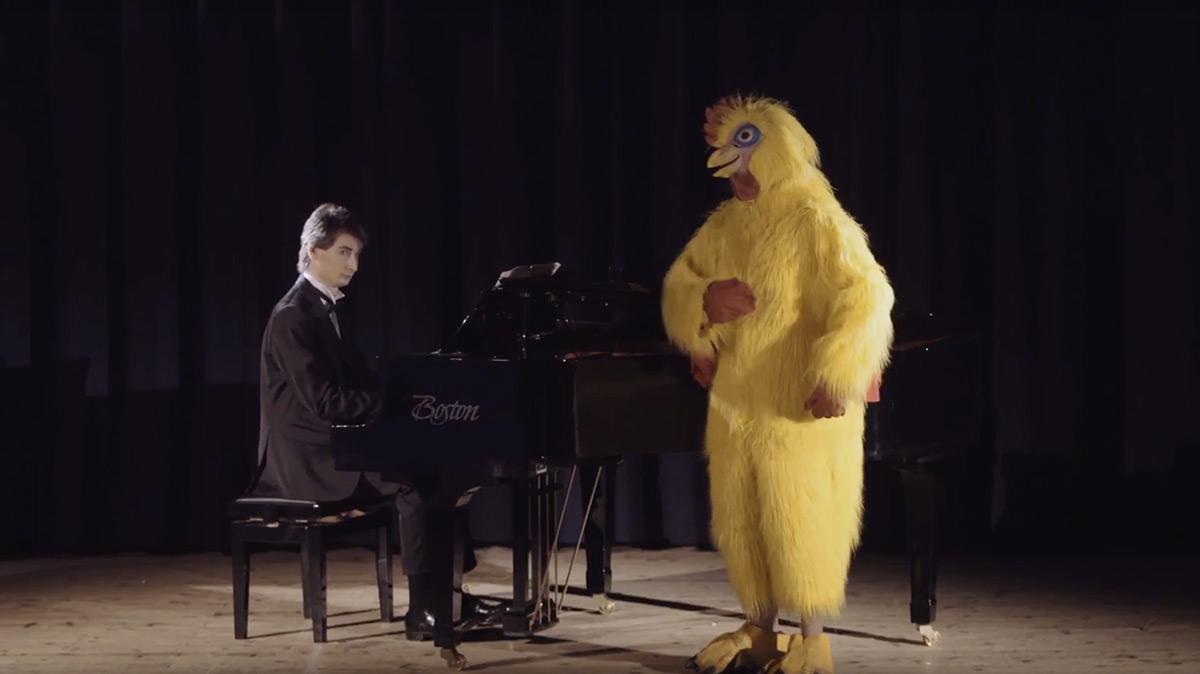 Progetto Col partner giusto è meglio: il pianista.